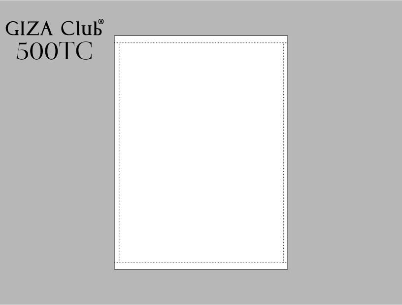 エジプト超長綿 GIZA Club 500TC フラットシーツ