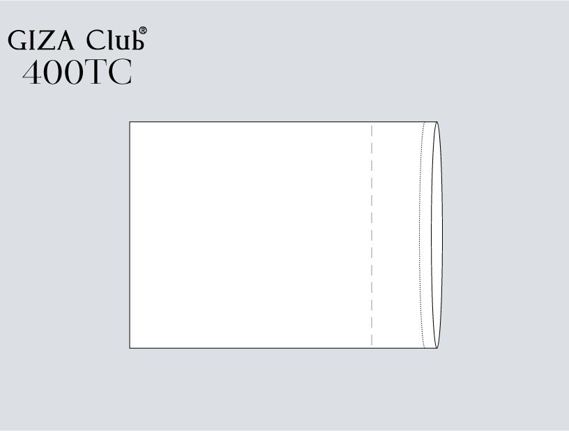 エジプト超長綿 GIZA Club 400TC ピロケース
