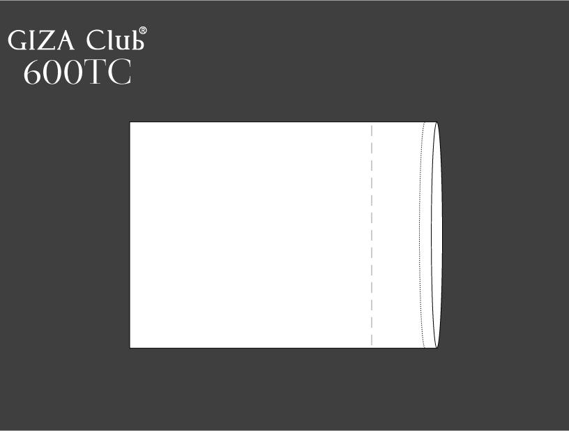 エジプト超長綿 GIZA Club 600TC ピロケース