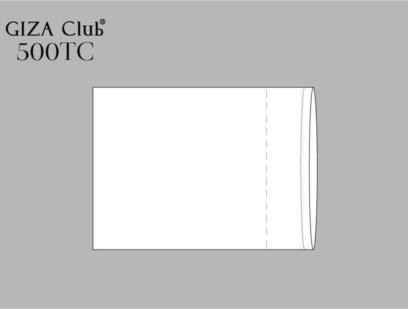 エジプト超長綿 GIZA Club 500TC ピロケース