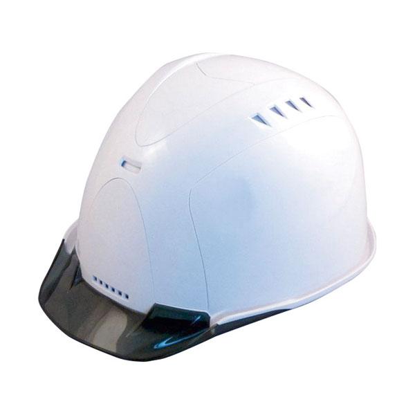 【スターライト】ヘルメット SS-821Z ABS樹脂 プラスチック製ハンモック フェイスシールド付