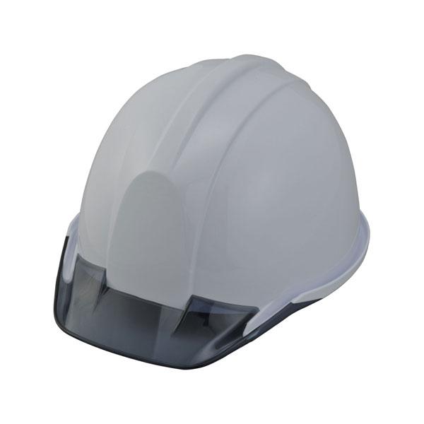 【スターライト】ヘルメット PC-701Z PC樹脂 樹脂製内装 フェイスシールド付【作業用/工事用/産業用/防災用】