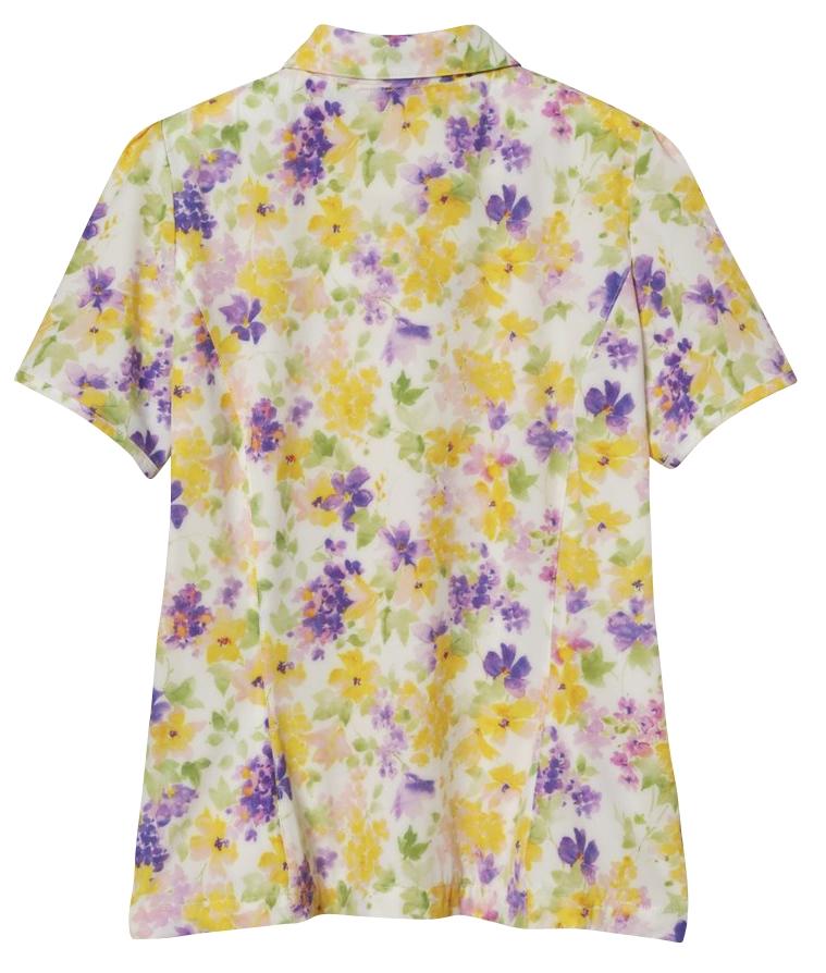 SPRING FLOWER半袖ブルゾン