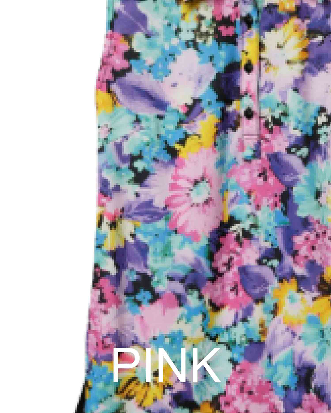 SUMMER FLOWERノースリーブポロシャツ