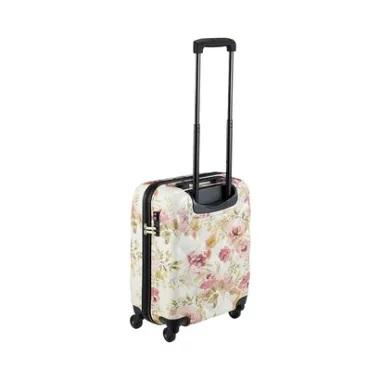 VINTAGE ROSE FLOWER PRINT CARRY CASE S