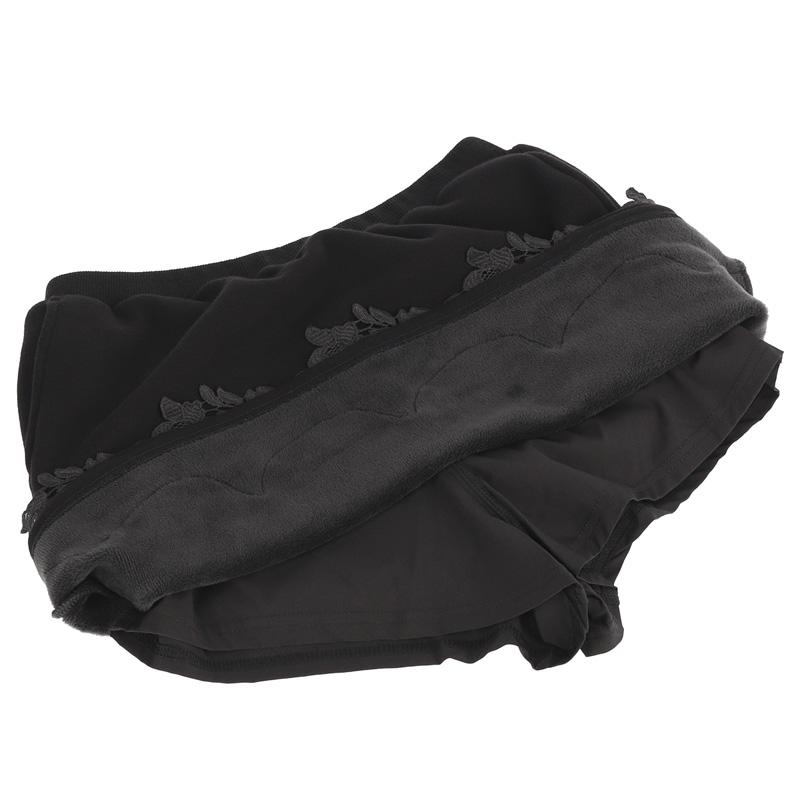 裏毛×レーススカート