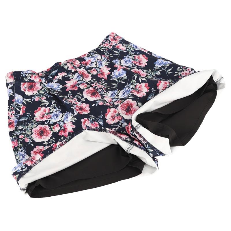 花柄ポンチプリントパンツ