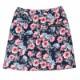 花柄ポンチプリントスカート