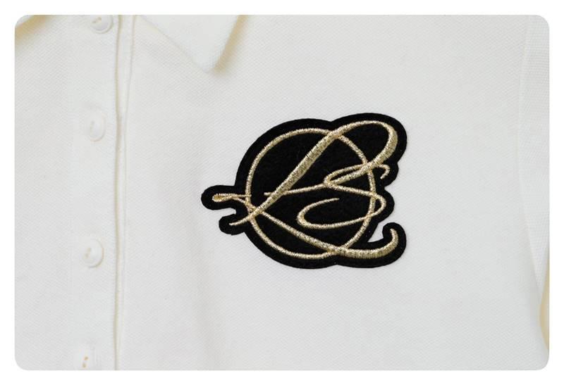 エンブレムR L/Sポロシャツ