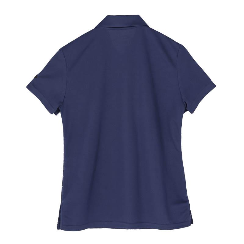レースコンビポロシャツ