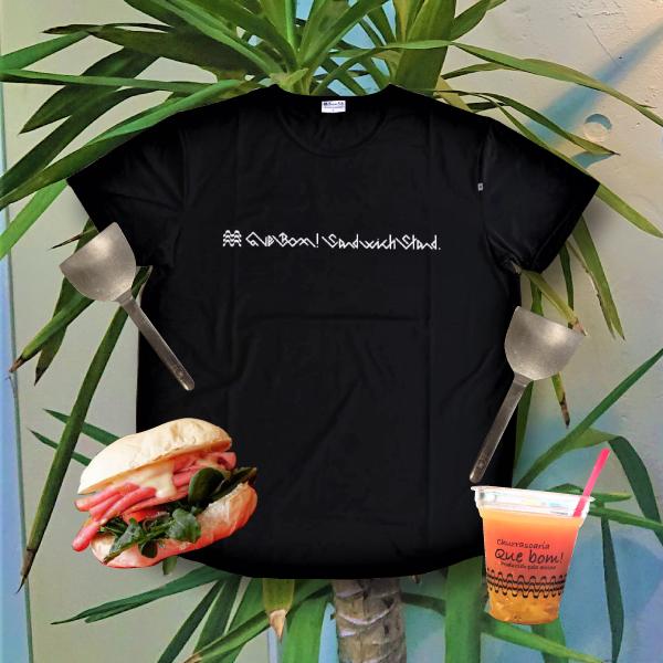 BBR BOM LOGO T-SHIRTS <Quebom! Sandwich Stand.>