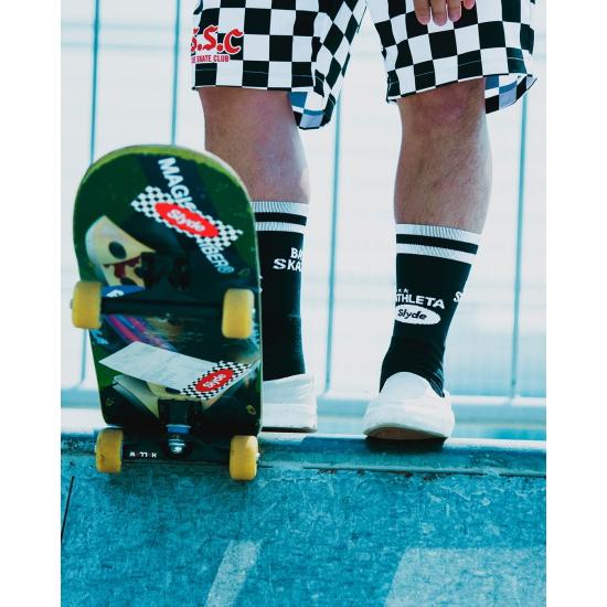 【Slyde x ATHLETA】Grip Middle Socks
