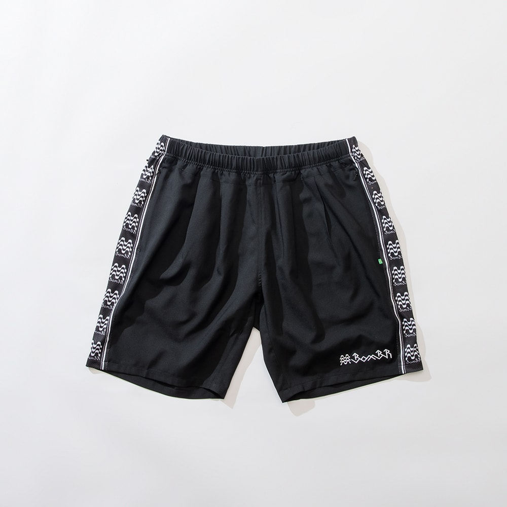 BBR ACTIVE PLEATS SHORTS