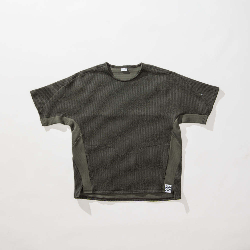 LOW GUAGE TECHNO KNIT SHIRTS
