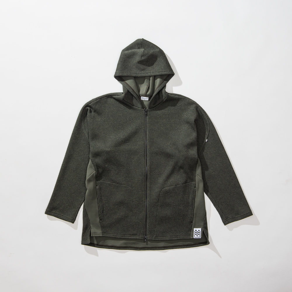 LOW GUAGE TECHNO KNIT JACKET
