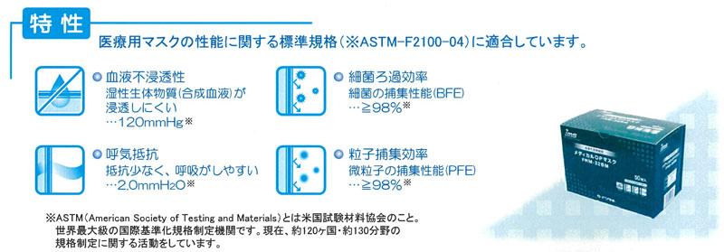 メディカルOPマスク FRM-32BM 50枚入
