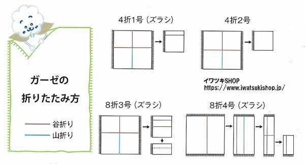 尺角ガーゼ8折3号150枚入