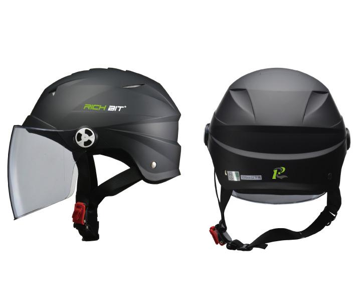 【RICHBIT製品パーツ】RICHBIT-ZERO 男女共有開閉シールド付きハーフヘルメット