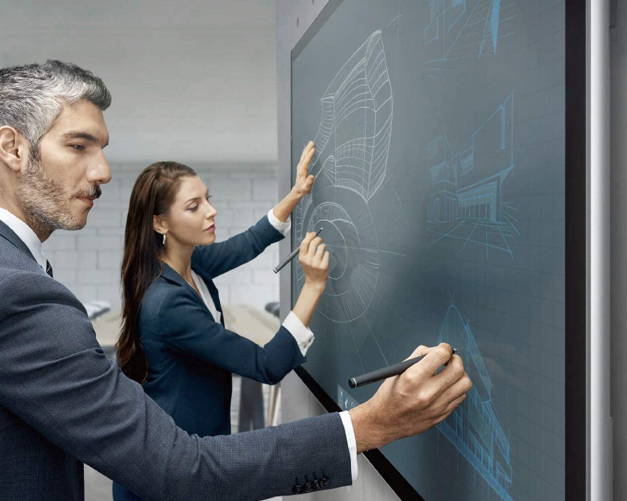 MAXHUB Sシリーズ 75inch S75FA オールインワンミーティングボード フルセット ディスプレイスタンドセット付き プレゼンテーション・会議で使えるインタラクティブホワイトボード/電子黒板