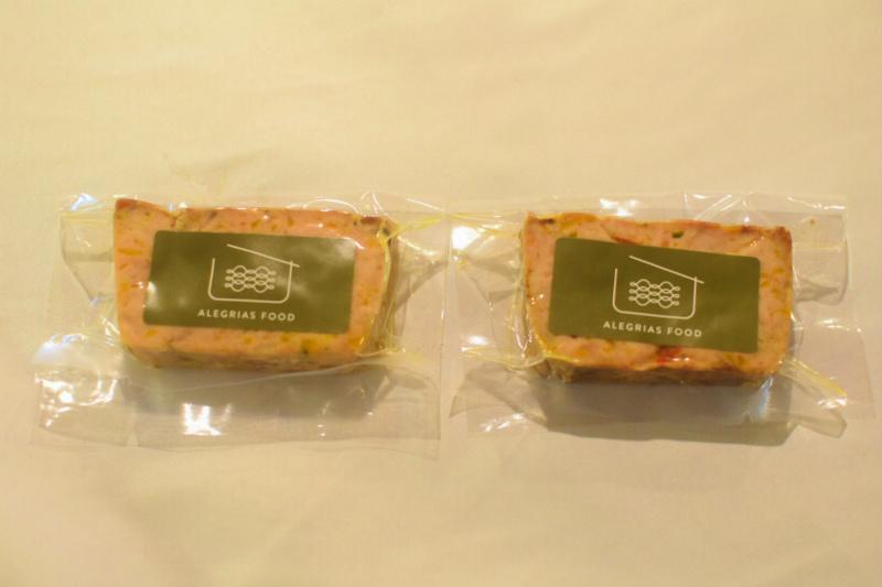 季節野菜のミートローフ 2個セット【冷凍】