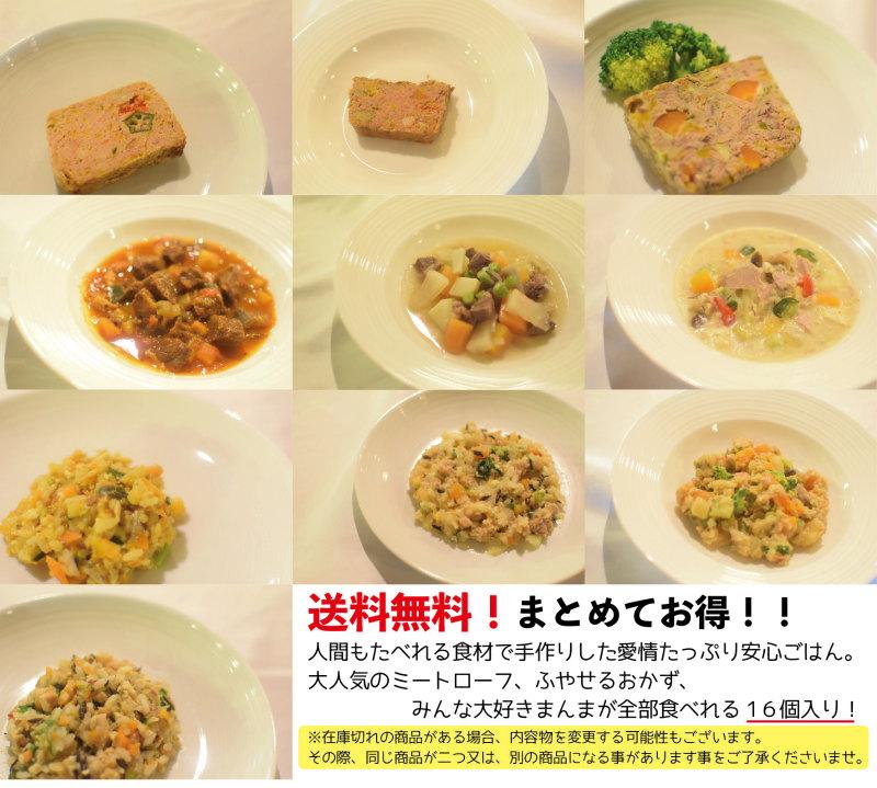 ★送料無料★わんにゃんスペシャルディナーセット【冷凍】