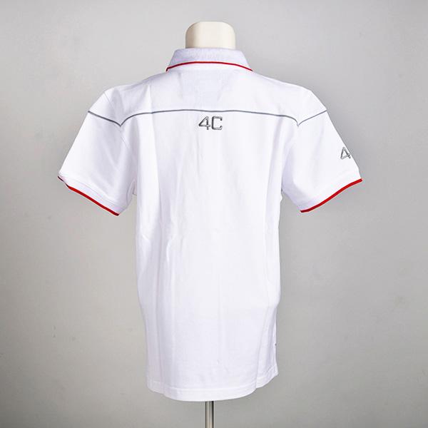 4C ショートスリーブ ポロシャツ(XLサイズ)