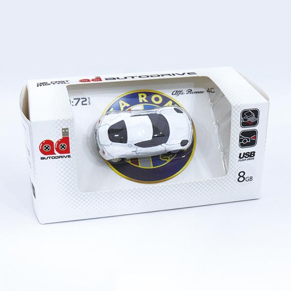 4C USBメモリ(ホワイト)(8GB)