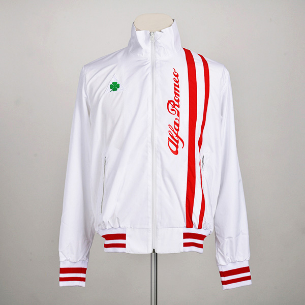 クアドリフォリオ ライトジャケット(ホワイト)(ユニセックス)(Lサイズ)