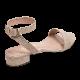 Cross Back Taupe / Stiletto 7cm