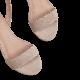 Cross Back Taupe / Stiletto 10cm
