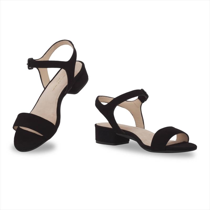 Black Velours / Stiletto 10cm