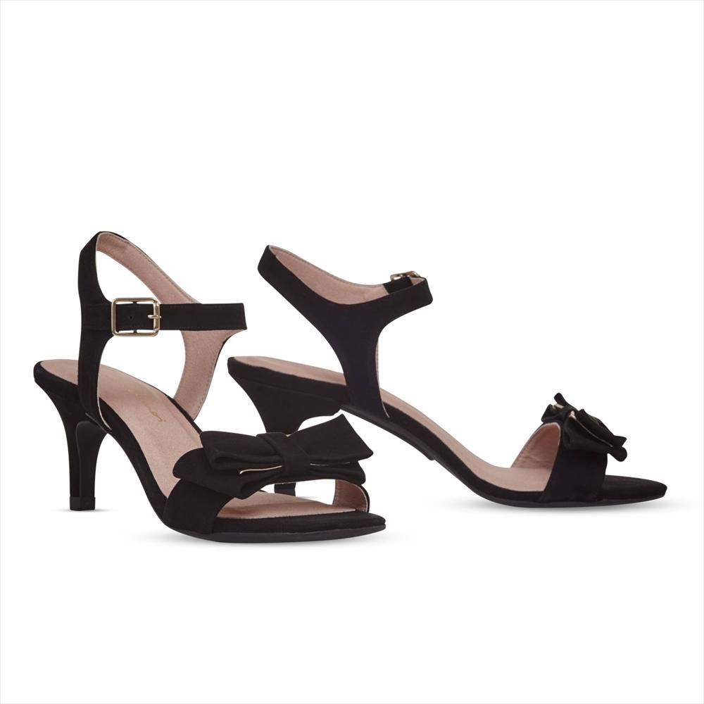 Black Bow / Stiletto 7cm