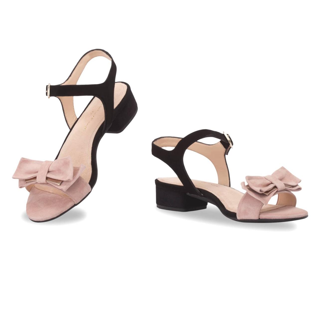 Black & Rose Nude / Stiletto 7cm