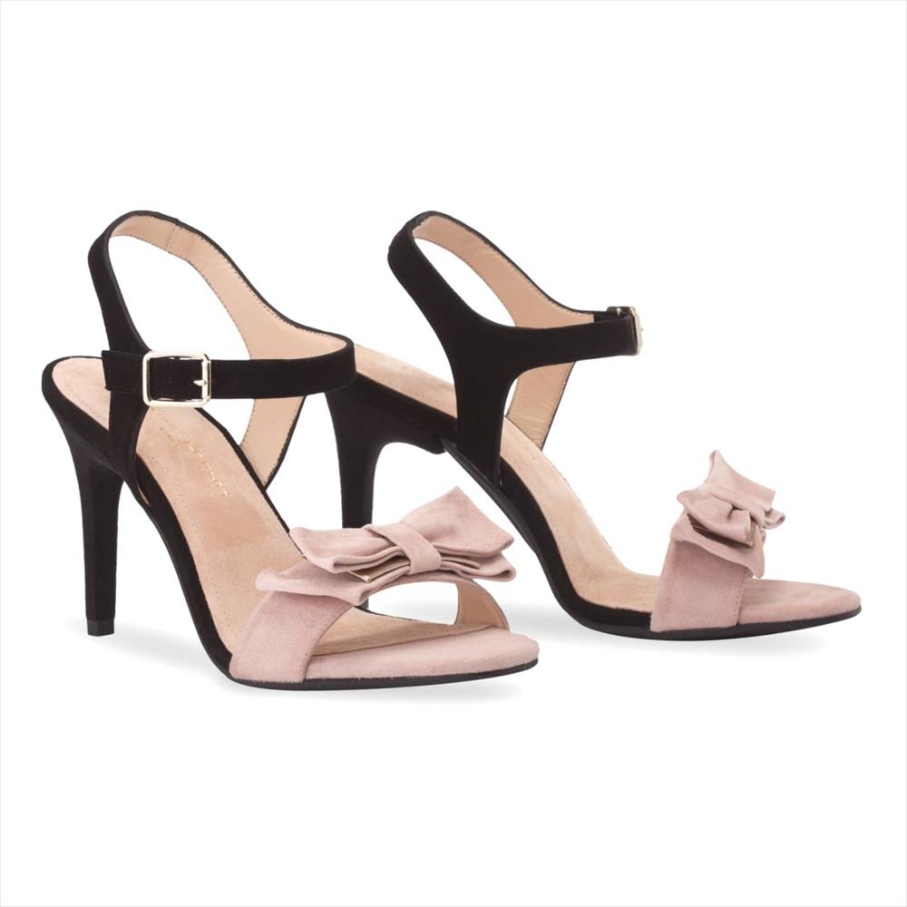 Black & Rose Nude / Stiletto 10cm