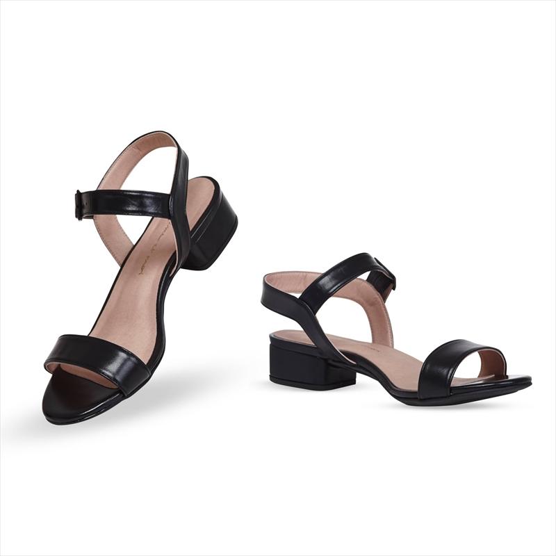 Black Nappa / Stiletto 7cm