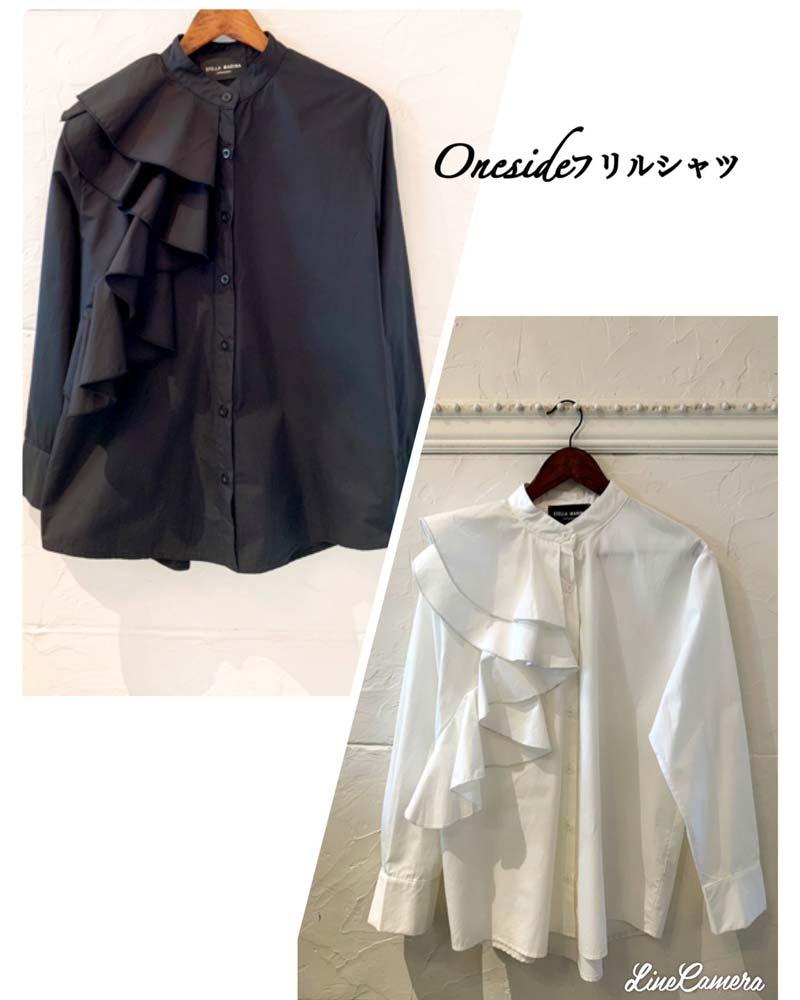 Oneside フリルシャツ
