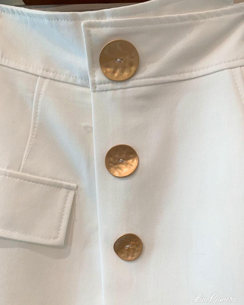 Goldボタン ショートパンツ