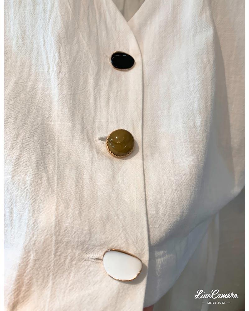 デザインボタン Short Jacket セットアップ