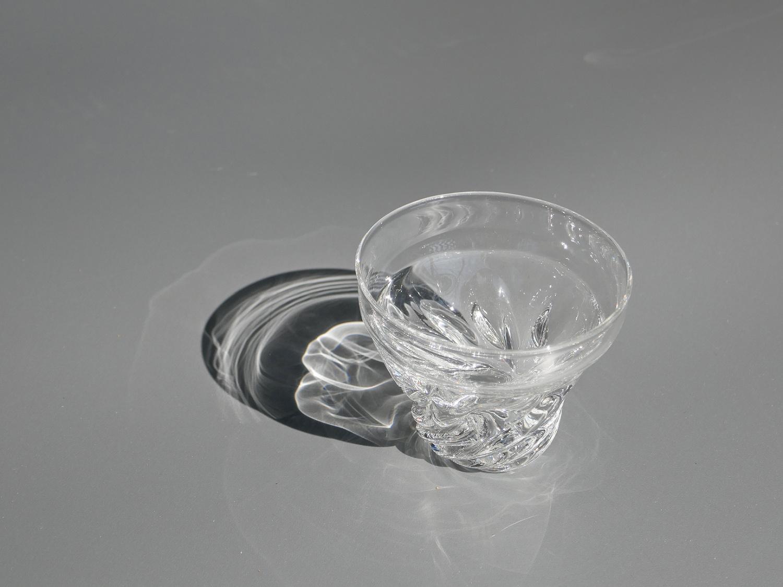 木村俊江/作 ガラス<br> 光の一杯 大 ショットグラス