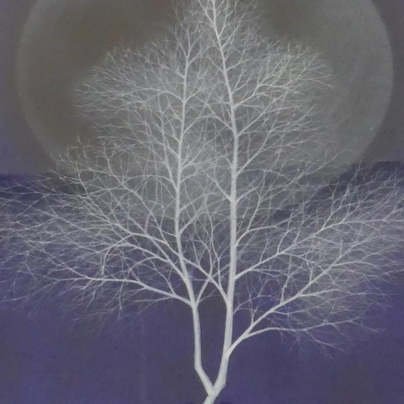 梅宮順子/日本画<br> 『新月』(原画)2021'