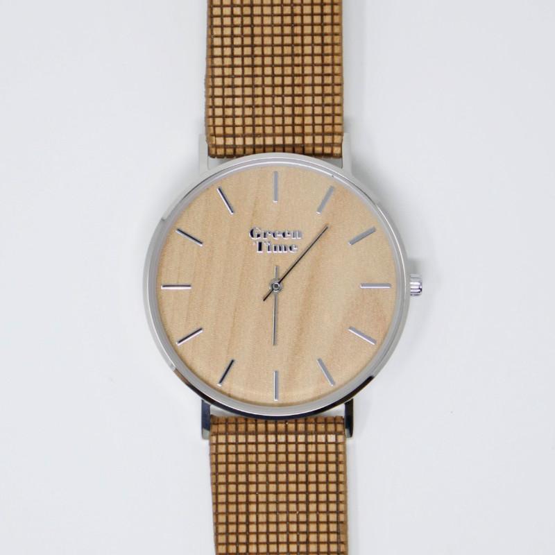 GreenTime/グリーンタイム<br> Vegan ZW060B <br> 木製腕時計(ユニセックス)