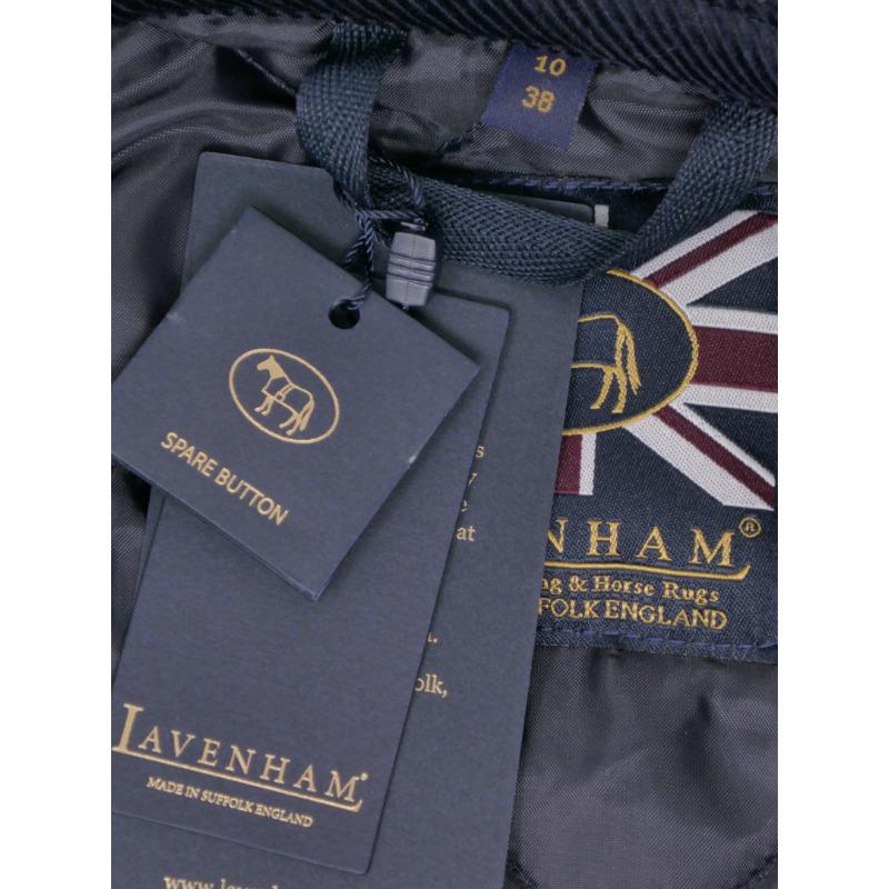 正規輸入品 LAVENHAM <br>BRUNDON LADY'S<br> 30%off!!/ラベンハム ブランドン <br>レディースコート ネイビー