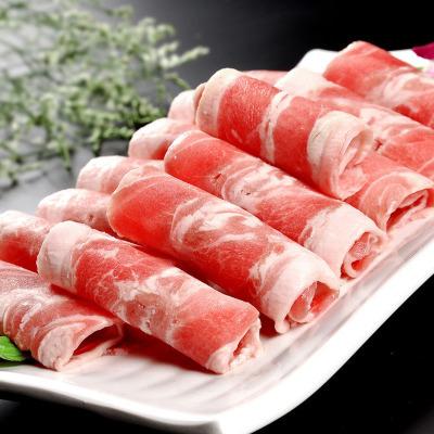【冷凍便】ラム肉スライス/小肥羊巻300g