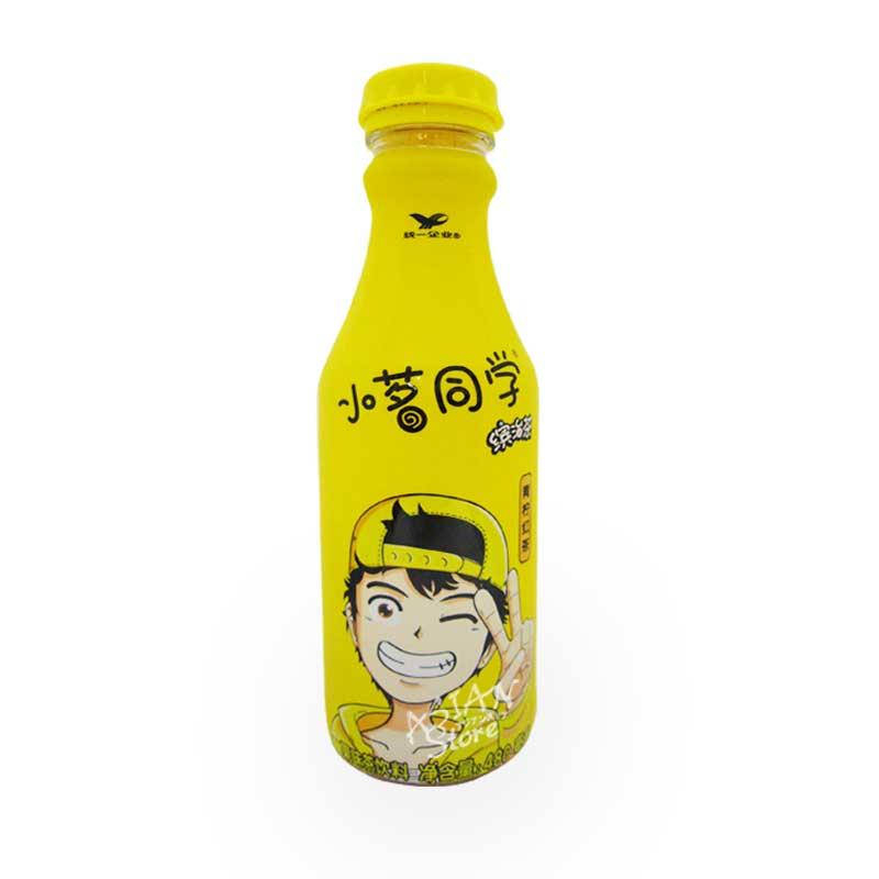 【常温便】統一レモン紅茶/統一小茗同學繽治茶青檸紅茶 480ml