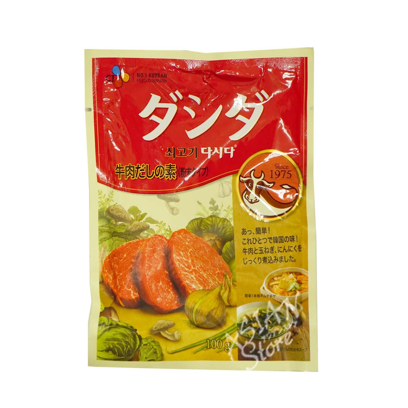 【常温便】牛肉ダシダ/韓国牛精100g