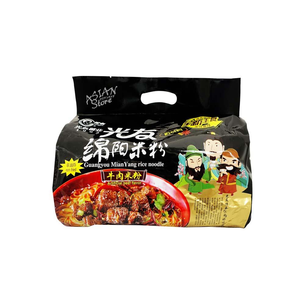 【常温便】光友綿陽即席ビーフン ビーフ味/光友綿陽米粉(牛肉味)540g