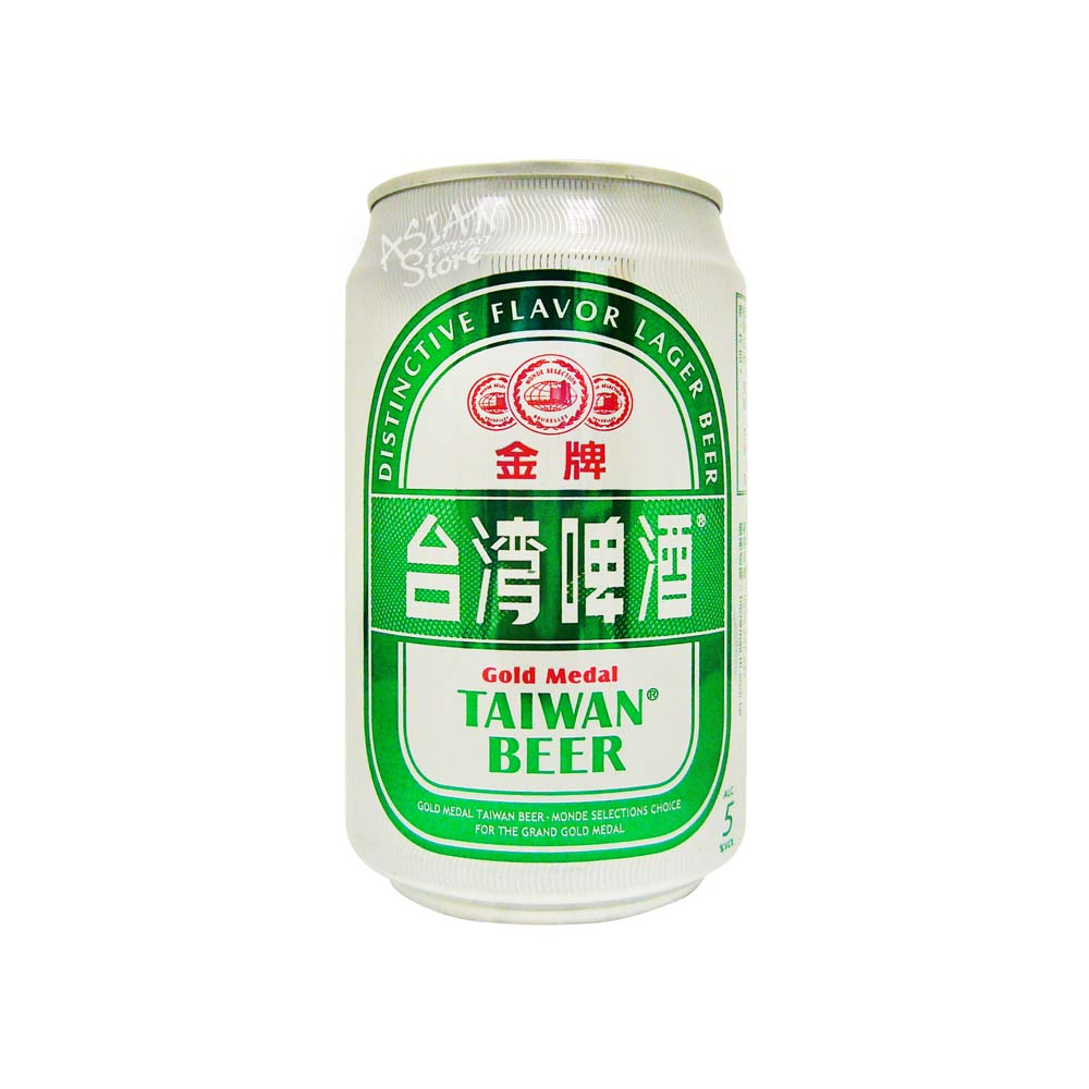 【常温便】【ビール】金牌台湾ビール330ml(缶)5度