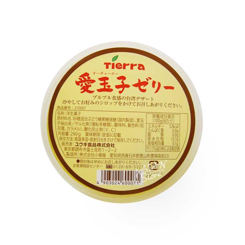 【常温便】オーギョーチー台湾の愛玉子ゼリー/Tierra台湾愛玉凍 290g