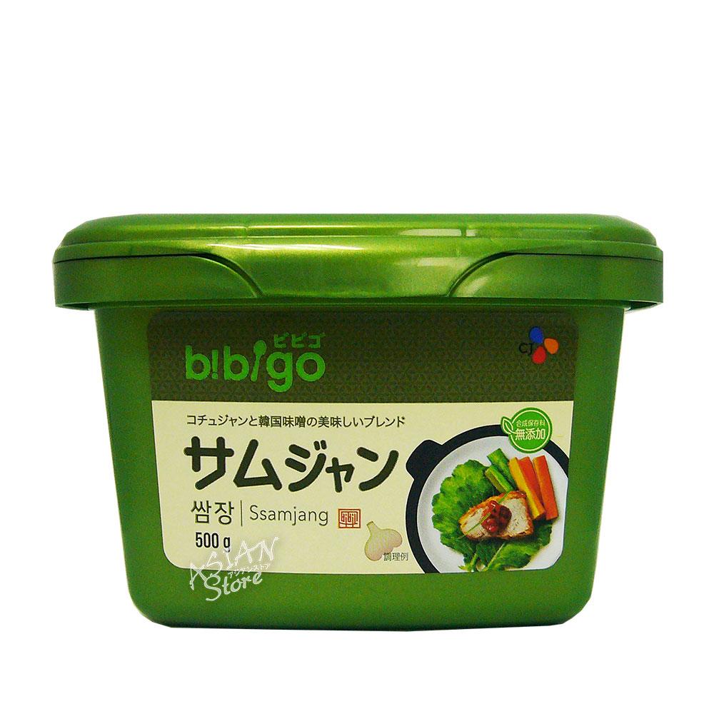 【常温便】ビビゴ サムジャン/bibigo 太陽草韓国包飯醤500g