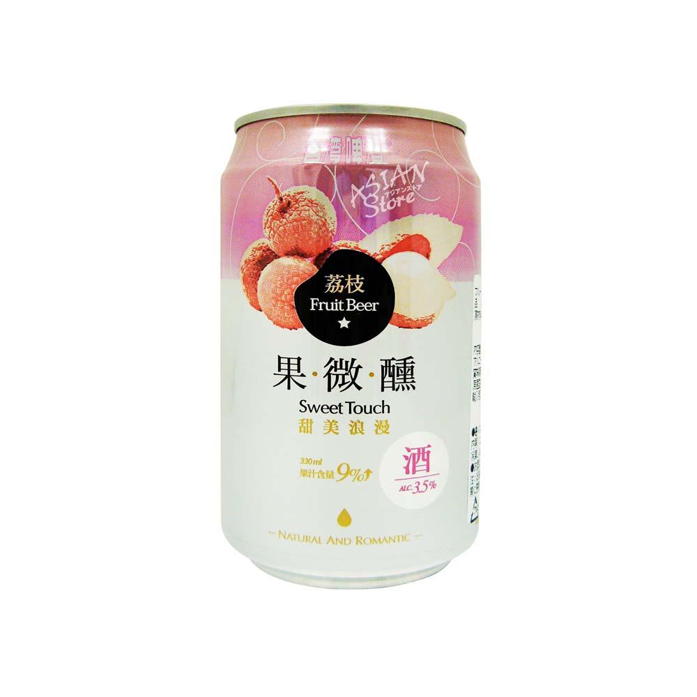 【常温便】【ビール】台湾ビールフルーツシリーズ ライチ果微醺330ml(缶)3.5度